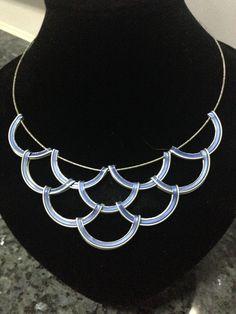 Halskette mit Kapsel Nespresso/Draht Recriarte ist fertig mit