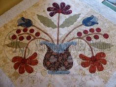 Washing and Blocking your Applique Blocks