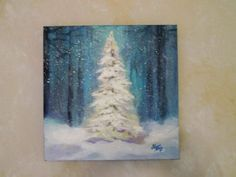 17 Best ideas about Winter Painting
