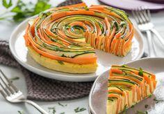 Gemüse-Eier-Blume