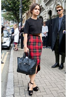 Top street styles seen at the Fashion Weeks / Les top street styles aux semaines de mode