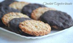 Biscotti Digestive al cioccolato