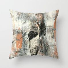 brass nature 1 Throw Pillow by PatternPrincess - $20.00