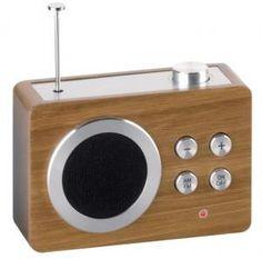 radio vintage look