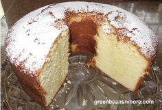 This is absolutely the best pound cake recipe. I've been looking for YEARS, literally! Finally found it.