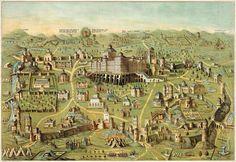 jewish temple   ... _ancient_city_of_Jerusalem_with_Solomon's_Temple_(LOC_pga.02305).jpg