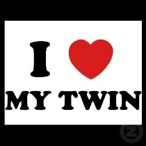High Quality I Love My Twin! Twin Sister QuotesTwin ...