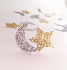 100 Moon and Star Confetti, Twinkle Twinkle Little Star, Love You to the Moon and Back, Crescent Moon Party, Star Baby Shower fairy Cutout