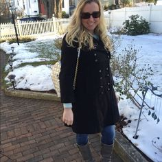 HP 12/24  Marc by Marc Jacobs Coat Adorable double- breasted black wool coat from Marc by Marc Jacobs. Fully lined and size small. Like new condition. Marc by Marc Jacobs Jackets & Coats Pea Coats
