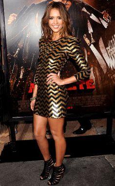 Chevron Chic: Jessica Alba's Best Looks