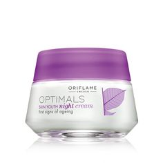 Crema de Noche Skin Youth Optimals #oriflame