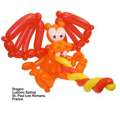 Orange entries Balloon Dragon Ludovic Epting St. Paul Les Romans, France