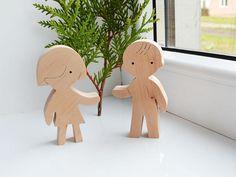 Holzpuppen Spielzeug Holz Montessori Holz Spielzeug Wooden