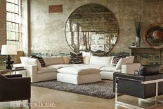 This new sectional from Huntington House raises the bar on seating experience!
