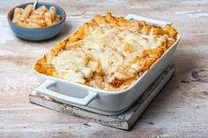 Εύκολο παστίτσιο με ριγκατόνι Casserole Recipes, Pasta Recipes, Cooking Recipes, One Dish Dinners, Rice Pasta, Food Categories, Greek Recipes, Lasagna, Macaroni And Cheese