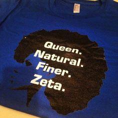 Zeta Phi Beta t-shirt