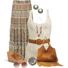 Bohemian Gypsy Style, created by daiscat on Polyvore