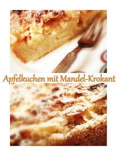 """"""" Greenway36 - Food """": Kuchen Apfelkuchen mit Mandel-Krokant"""