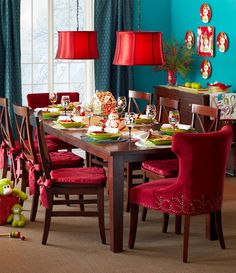 Oh what fun it is to dine with the Pier 1 Torrance Dining Collection