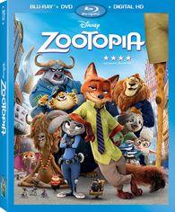 Zootopia (Blu-ray) Temporary cover art