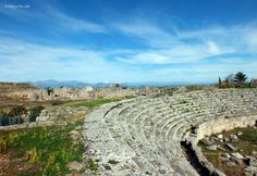 Views over the ruins of #Perge from the stadium. #Antalya