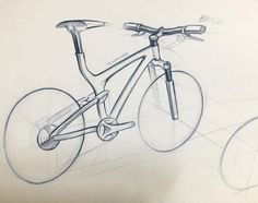 #designsketch #design #sketch #draw #id #industrialdesign #rough #verthin #inspiration #산업디자인 #스케치 #디자인 #디자이너 #designinspiration #designprocess #sketchwork #bike #bycicle by frogista_design