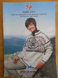 Dale of Norway Park City 2002 Olympics US Ski Team Knitting Pattern Book | eBay