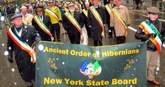 Ancient Order of Hibernians Banners, New York, New York City, Banner, Posters, Nyc, Bunting