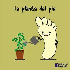 La planta del pie  #Spanishjokes #chistes #humor