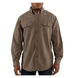 Carhartt - Product - Men's Fort Plaid Long-Sleeve Shirt