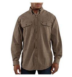 Carhartt - Product - Men's Fort Plaid Long-Sleeve Shirt
