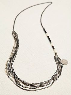 Free People Quil Chain Necklace