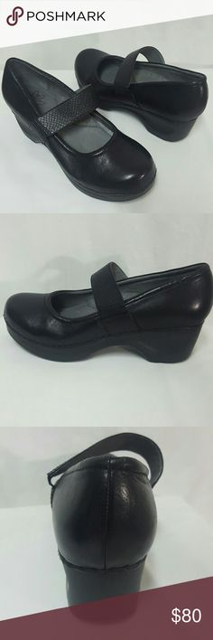 Sanita leather Mary Jane clogs shoes New Size 9.5 Sanita shoes new without box. Size 9.5, leather, heel is 1.7 inches. Thank you Sanita Shoes Mules & Clogs