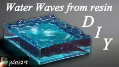 DIY. Water Waves from Resin - YouTube