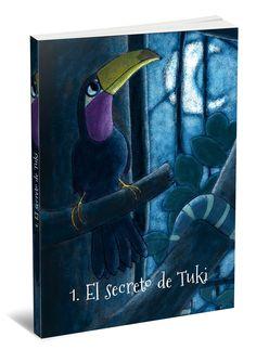 Ilustración de portada y caja contenedora de una colección de cinco cuentos infantiles – Jordi Rosich | Portfolio Short Stories, Cover Pages, Crates