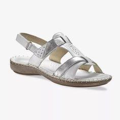 Dvojfarebné kožené sandále   blancheporte.sk #blancheporte #blancheporteSK #blancheporte_sk  #shoes #topanky #kozenaobuv #koze Zip, Sneakers, Shopping, Shoes, Dimensions, Composition, Products, Style, Fashion