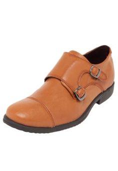 Sapato Social DAFITI I.D. Austin Caramelo