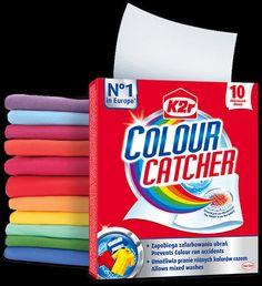 #zlapKolor Rekomenduj.to Wypróbuj Chusteczki Colour Catcher