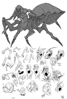 spiderman by DavidSequeira drow monster beast creature animal | Create your own roleplaying game material w/ RPG Bard: www.rpgbard.com | Writing inspiration for Dungeons and Dragons DND D&D Pathfinder PFRPG Warhammer 40k Star Wars Shadowrun Call of Cthulhu Lord of the Rings LoTR + d20 fantasy science fiction scifi horror design | Not Trusty Sword art: click artwork for source