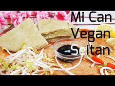 Easy No Knead Vegan Seitan/ Wheat Gluten| Cách Làm Mì Căn/ Mì Căng| グルテンミート(セ...