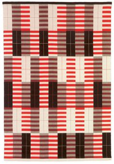 Anni Albers - Black-white-red, Bauhaus 1927