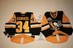 Kuhnhackl Pittsburgh Penguins Authentic Reebok Edge 2.0 7287 50th Jersey Patch #ReebokAuthentic #PittsburghPenguins