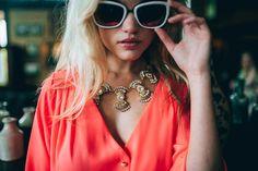 Gatsby Glam meets Mod maven. #Summerfashion