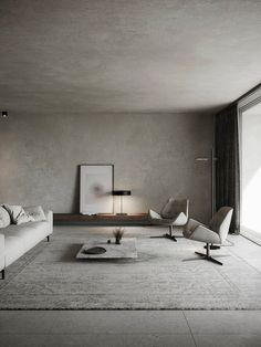 Architecture - Interior Architecture - Interior Design PROJECT A1730 Guest Apartment - Dubai Interior Design Minimalist, Minimalist Home, Home Interior Design, Interior Architecture, Interior And Exterior, Dubai Architecture, Interior Minimalista, Design Apartment, Living Room Interior