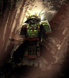 ArtStation - Samurai defender, Mário Fernandes