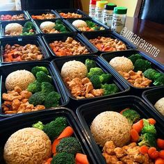 """""""It's meal prep Monday! @imabrahamb is done with his #FlavorGod Meal Prep! This kid is always on point every single week! I love that my seasonings are…"""""""