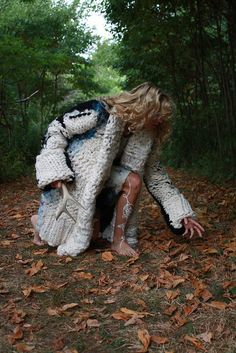 knits by amanda henderson in the woods