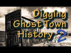 Oklahoma Ghost Town Metal Detecting part 2 - YouTube