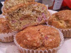 Sonkás-káposztás muffin http://boszorkanykonyh.blogspot.hu/2015/03/sonkas-kaposztas-muffin.html