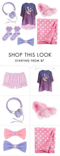 """Kawaii pajamas"" by echorose-1 on Polyvore featuring Urbanears"